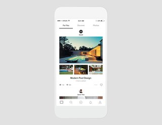 Dwell iOS App - Photo 1 of 4 - Enjoy a bottomless feed of curated photos and stories written by the Dwell team and friends.