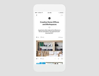Dwell iOS App - Photo 2 of 4 - Curate your own collections and discuss them with a community of architects, designers and enthusiasts who share the same love for design.