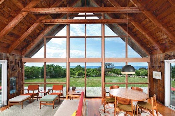 Rinsom Residence Interior Living Room Photo 2 of Risom Residence modern home