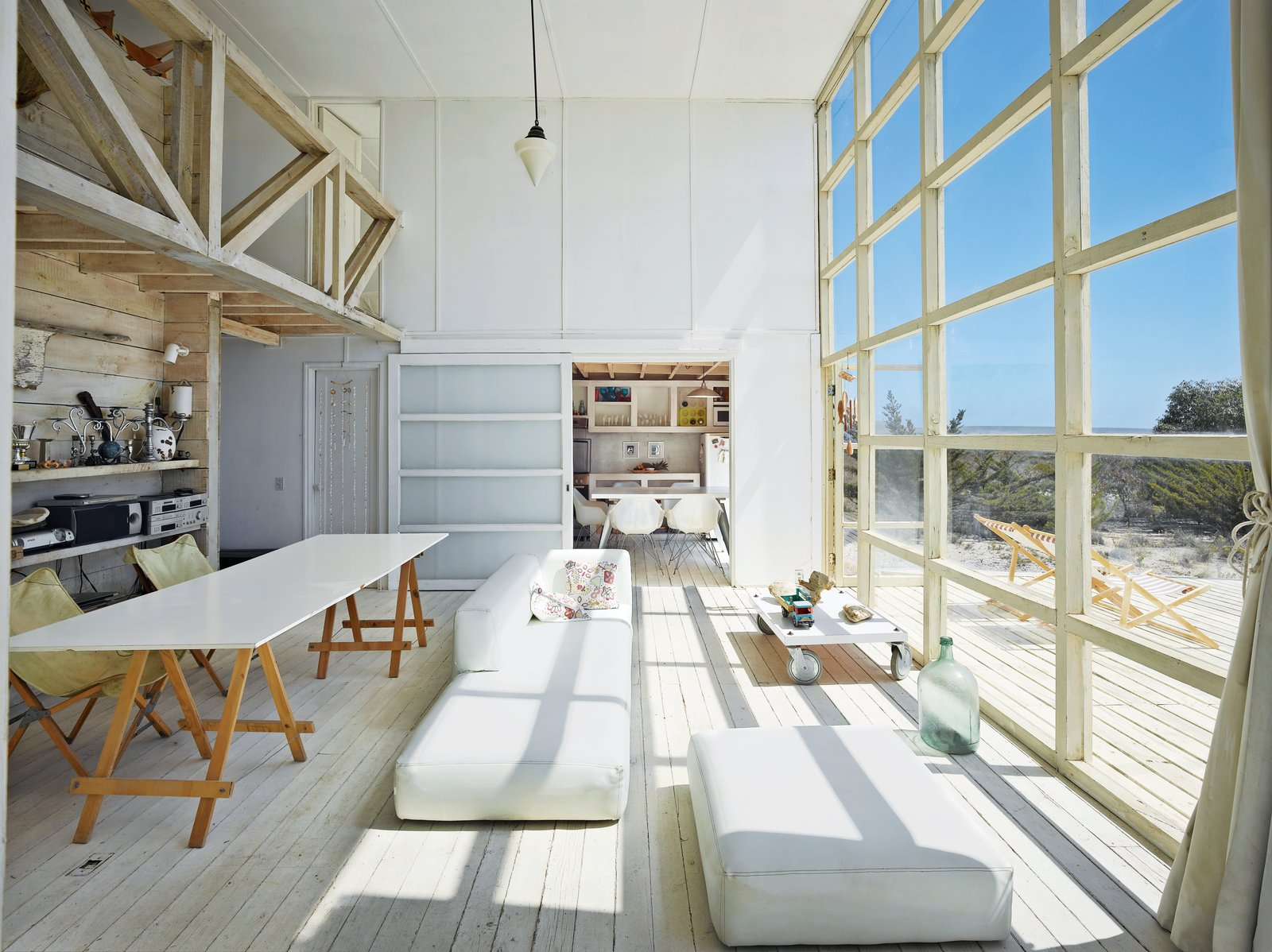 #beachhouse #bayfront #Chile #remote #summer #getaway #wood #windows #MathiasKlotz