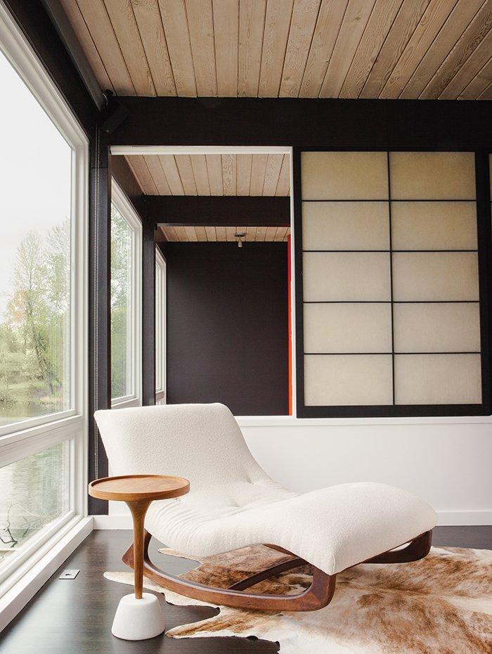#seatingdesign #chaiselounge #white #wood #midcentury #modern #SchemataWorkshopInc. #BlipDesign #TheAquaLair  100+ Best Modern Seating Designs by Dwell