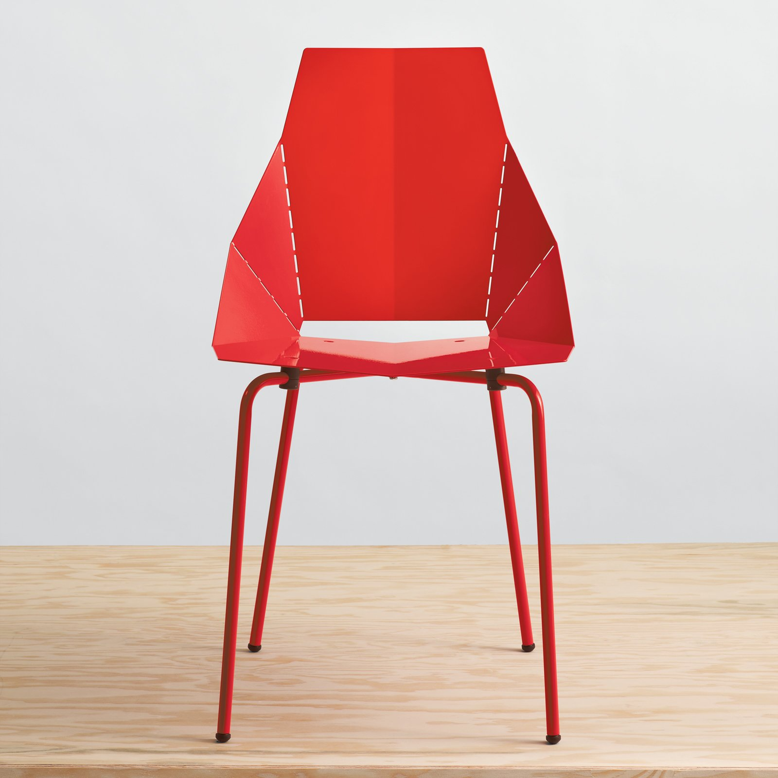 #seatingdesign #red #modern #chair #RealGoodChair #bright #BluDot #sculptural   100+ Best Modern Seating Designs by Dwell