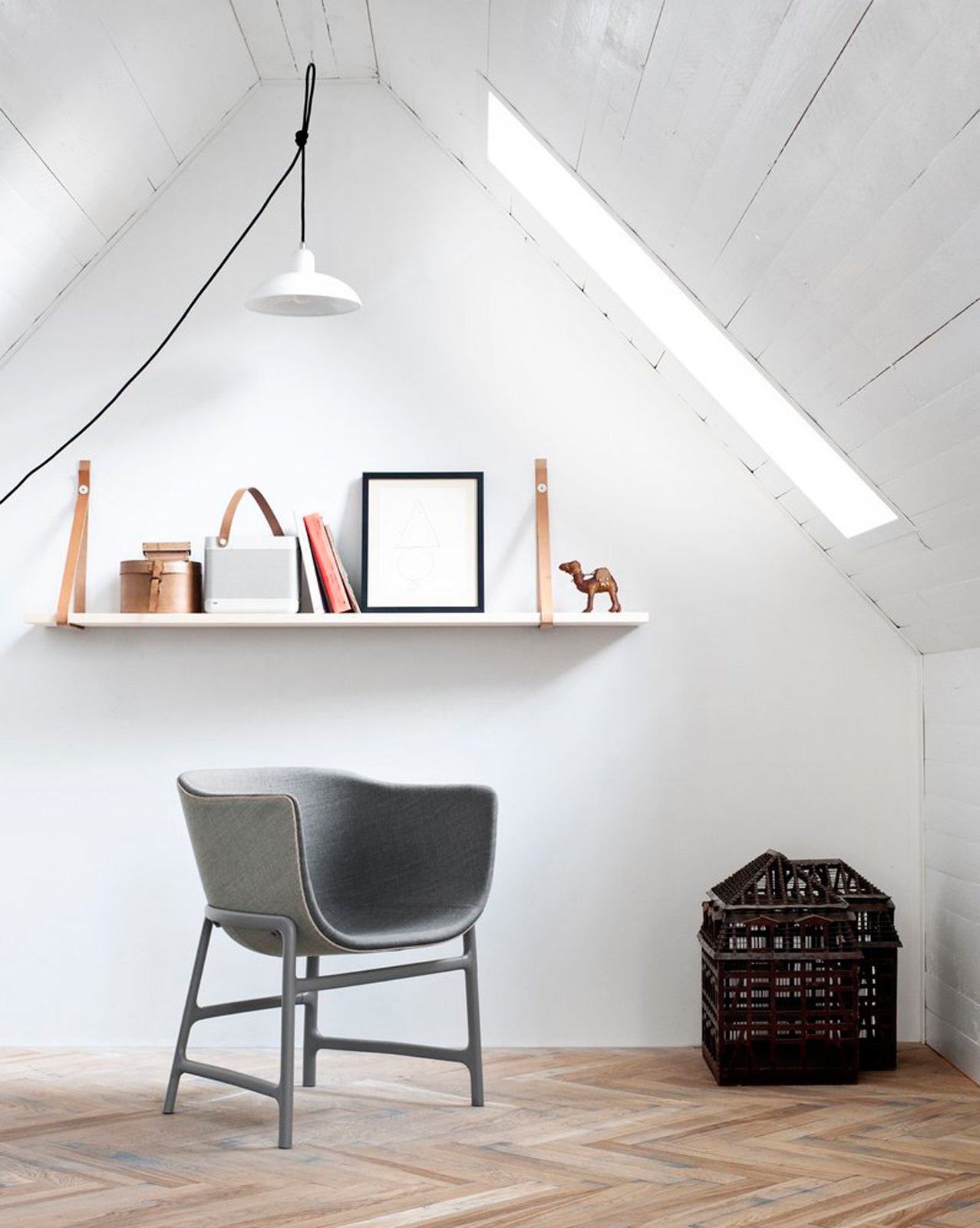 #seatingdesign #miniscule #chair #grey #Danish #CecileManz #rounded #leather #plastic   100+ Best Modern Seating Designs by Dwell