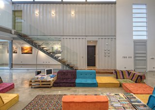 """Color Me Mad! - Photo 31 of 31 - #shippingcontainer<span> <a href=""""/discover/modern"""" rel=""""noopener noreferrer"""" target=""""_blank"""">#modern</a></span><span> <a href=""""/discover/costarica"""" rel=""""noopener noreferrer"""" target=""""_blank"""">#costarica</a></span><span> <a href=""""/discover/casaincubogallery"""" rel=""""noopener noreferrer"""" target=""""_blank"""">#casaincubogallery</a></span><span> <a href=""""/discover/trejos"""" rel=""""noopener noreferrer"""" target=""""_blank"""">#trejos</a></span><span> <a href=""""/discover/reused"""" rel=""""noopener noreferrer"""" target=""""_blank"""">#reused</a></span><span> <a href=""""/discover/recycledmaterial"""" rel=""""noopener noreferrer"""" target=""""_blank"""">#recycledmaterial</a></span><span> <a href=""""/discover/shippingpallettable"""" rel=""""noopener noreferrer"""" target=""""_blank"""">#shippingpallettable</a></span><span> <a href=""""/discover/pallettable"""" rel=""""noopener noreferrer"""" target=""""_blank"""">#pallettable</a></span><span> <a href=""""/discover/beds"""" rel=""""noopener noreferrer"""" target=""""_blank"""">#beds</a></span><span> <a href=""""/discover/recycledplastic"""" rel=""""noopener noreferrer"""" target=""""_blank"""">#recycledplastic</a></span><span> <a href=""""/discover/couches"""" rel=""""noopener noreferrer"""" target=""""_blank"""">#couches</a></span><span> <a href=""""/discover/interior"""" rel=""""noopener noreferrer"""" target=""""_blank"""">#interior</a></span><span> <a href=""""/discover/lounge"""" rel=""""noopener noreferrer"""" target=""""_blank"""">#lounge</a></span><span> <a href=""""/discover/seatingarea"""" rel=""""noopener noreferrer"""" target=""""_blank"""">#seatingarea</a></span><span> <a href=""""/discover/stairs"""" rel=""""noopener noreferrer"""" target=""""_blank"""">#stairs</a></span><span> <a href=""""/discover/glass"""" rel=""""noopener noreferrer"""" target=""""_blank"""">#glass</a></span><span> <a href=""""/discover/color"""" rel=""""noopener noreferrer"""" target=""""_blank"""">#color</a></span><span> <a href=""""/discover/arearug"""" rel=""""noopener noreferrer"""" target=""""_blank"""">#arearug</a></span><span> <a href=""""/discover/art"""" rel=""""noopener noreferrer"""" target=""""_blank"""">#art</a></span><span> <a href=""""/discover/architect"""" rel=""""noopener norefe"""