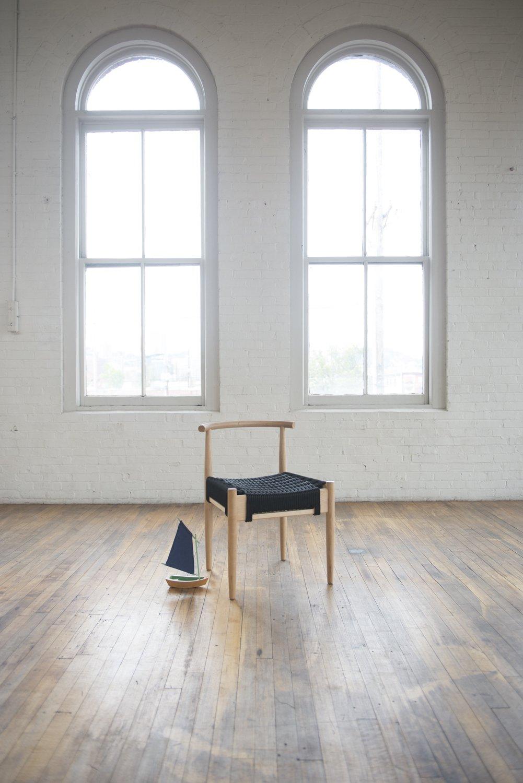 #seatingdesign #chair #interior #inside #minimalist #modern #furnituredesign #furniture #BenKlebba #harborchair #rope #window #light #Oregon   100+ Best Modern Seating Designs by Dwell