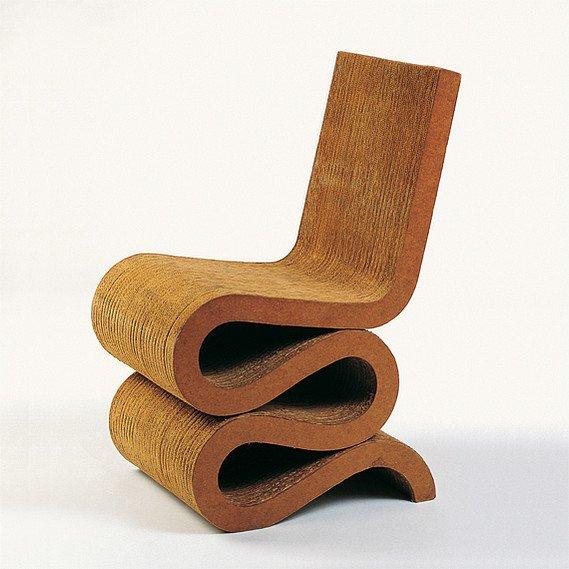 #seatingdesign #hardwood #cardboard #furniture #durable #FrankGehry #EasyEdges #art #design 100+ Best Modern Seating Designs by Dwell
