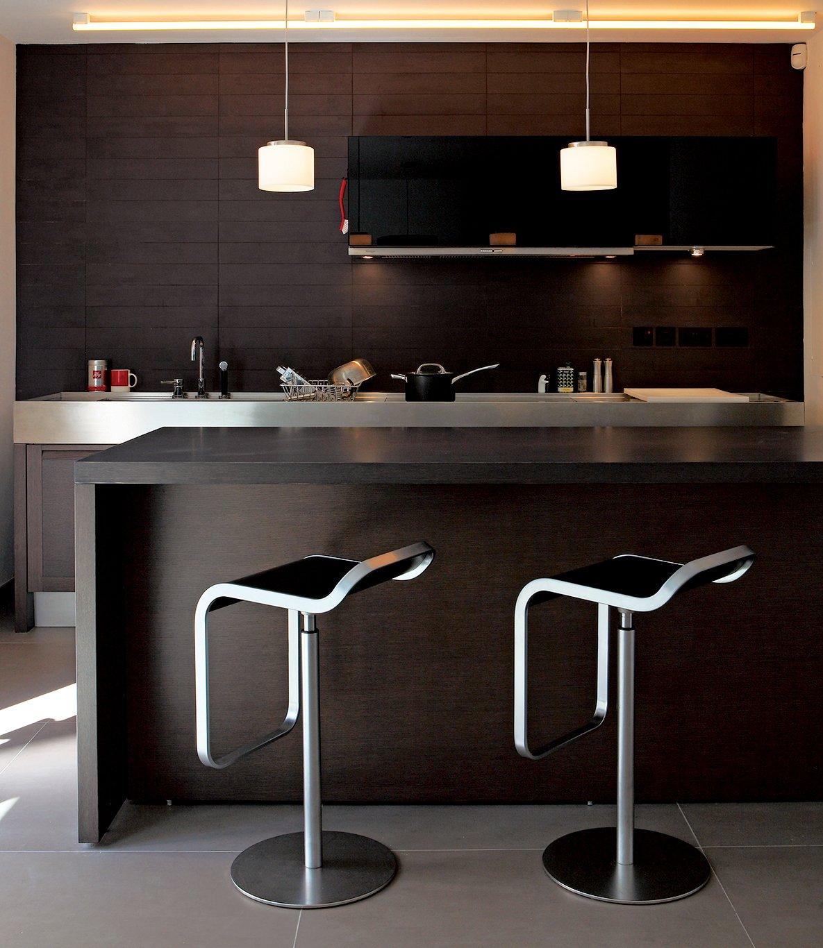 #seatingdesign #interior #inside #indoor #custom #clad #TheSunkenHouse #photographer #EdReeve #DavidAdjaye #london #DeBeauvoir #cedar #modern #stool #kitchen  100+ Best Modern Seating Designs by Dwell
