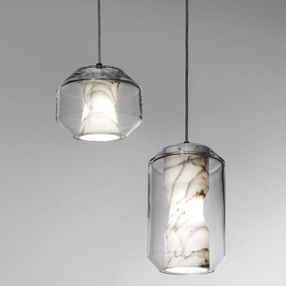 #lighting #indoor #interior #inside #marble #crystal #Chamber #lights #pendant #LeeBroom