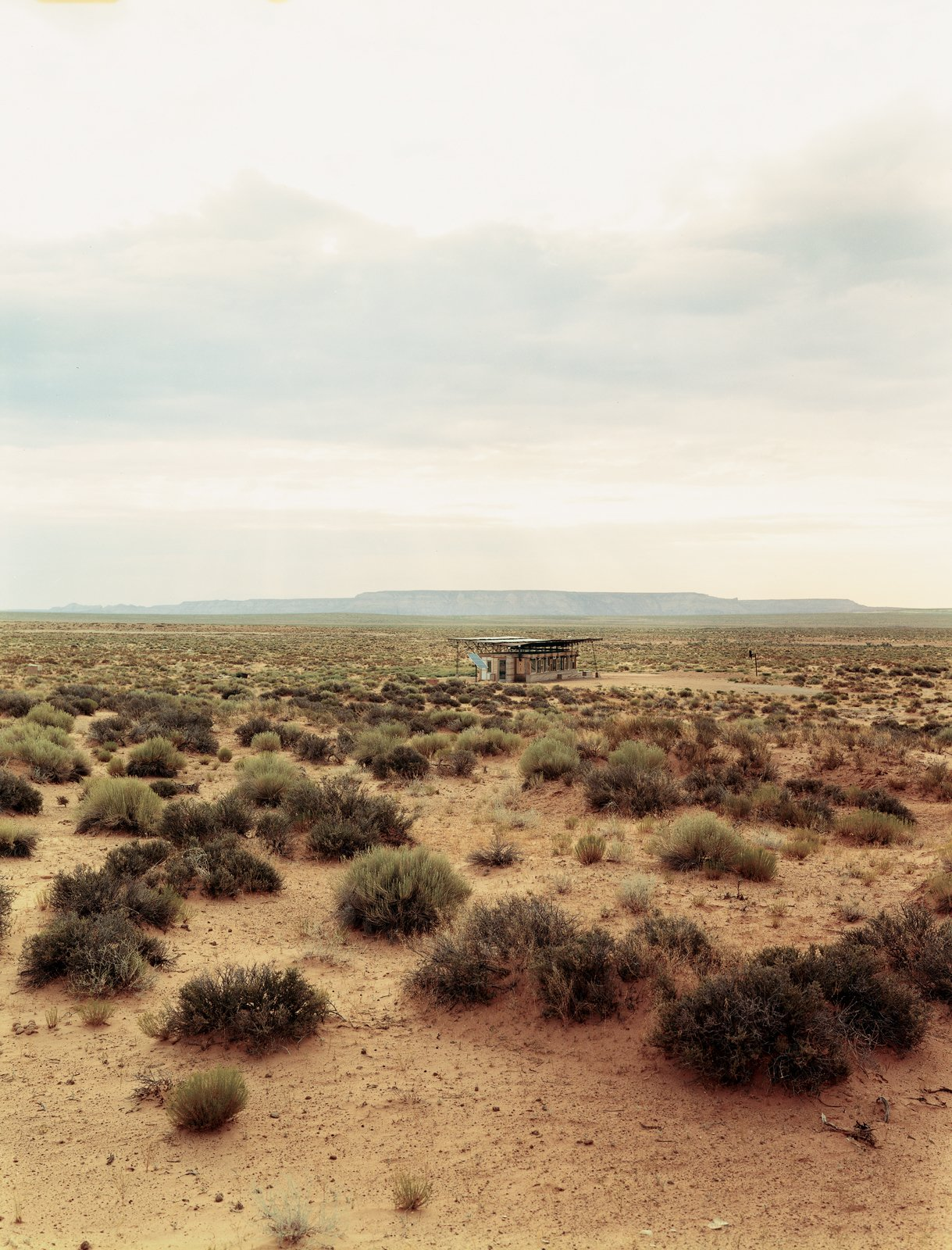Architect Hank Louis worked with Navajo tribe elders to secure a 66-year lease on a half-acre lot in the middle of Bluf, Utah, for Rosie Joe and her children. Tagged: Outdoor and Desert.  Cabins & Hideouts by Stephen Blake from No Grid in Sight