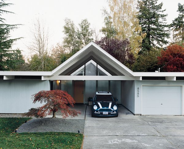 A Mid Century Modern Home In Southwest Portland Dwell