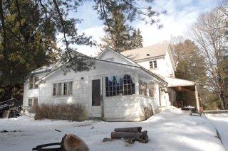 The original 1820s farmhouse.