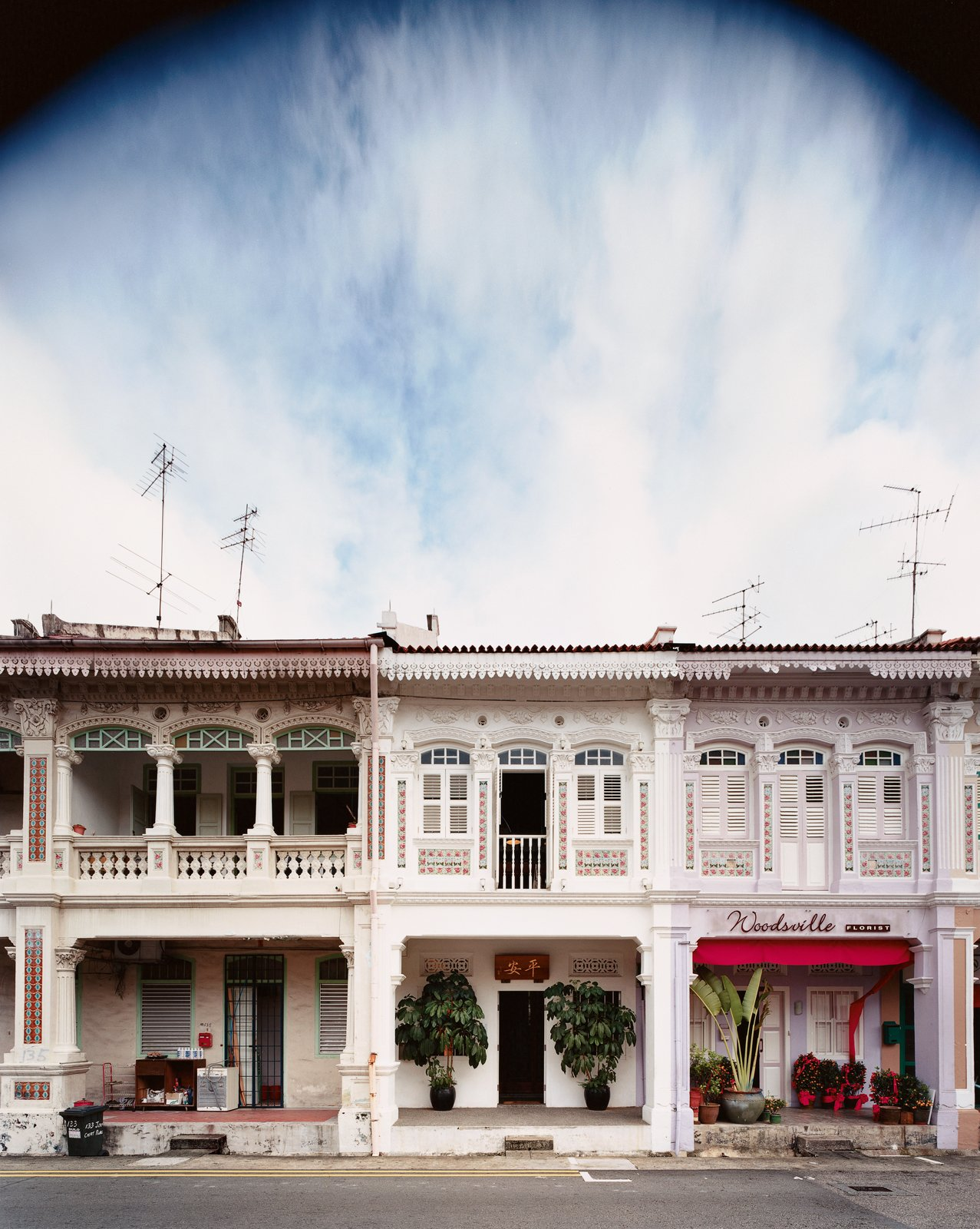 """""""Shophouses brought back memories of our childhoods, of open back doors and neighbors and relatives wandering in and out of the kitchen and cooking and eating and coming and going whether you liked it or not.""""—Yang Yeo"""