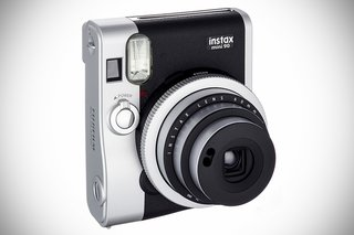 A look back at some of my favorite cameras - Photo 8 of 10 - Document all that gift-giving with Fujifilm's Instax camera, a bite-sized Polaroid-type camera with a case that looks like a vintage Leica. Instax Mini 90 Neo Classic camera, $210 on Amazon.
