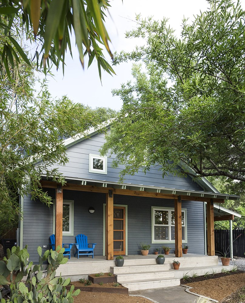 Family Sized Addition For Renovated Austin Bungalow