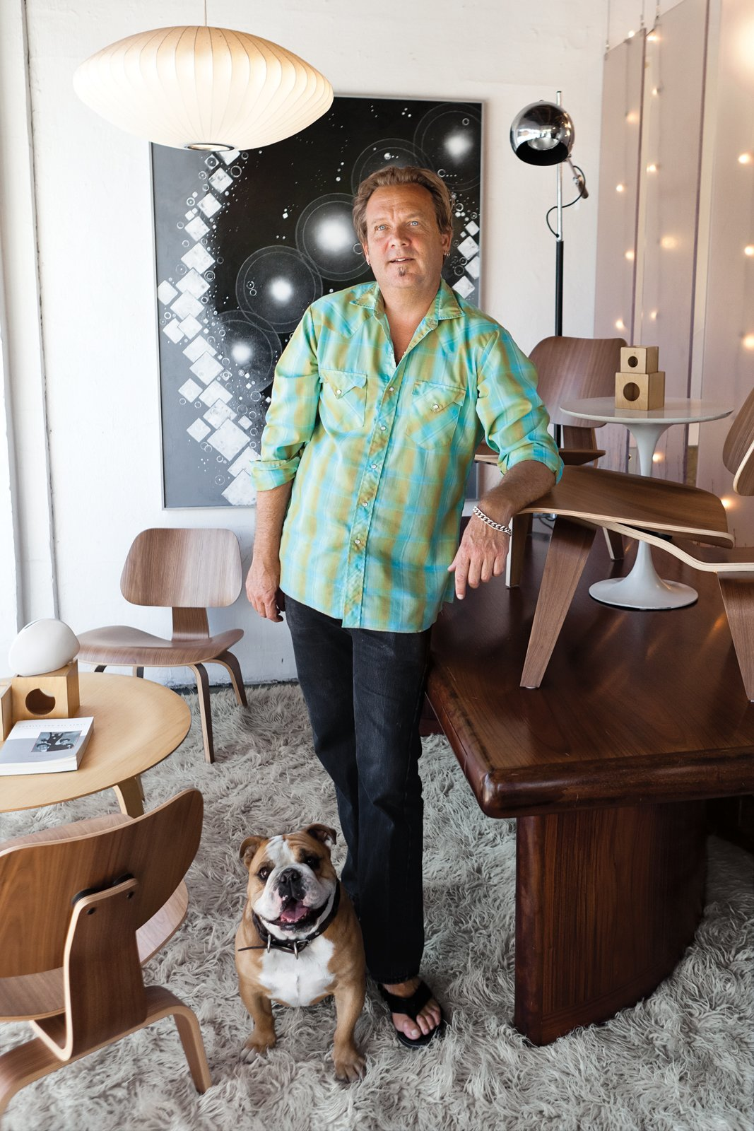 Ron Green's affable personality (and that of his store guard, bulldog Hana), along with his immense knowledge of furniture, keeps the regulars coming back to   his 2,800-square-foot shop, the Green Ant.  Photo 4 of 6 in Modern Across America: Salt Lake City from Utah Bound