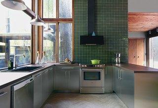Modern Sustainable Kitchen Renovation in Pennsylvania - Photo 2 of 2 -