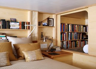 Space-Saving Wood-Paneled Apartment in Manhattan - Photo 2 of 8 -