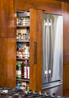 These Cabinets Slide, Unfold, and Open to Conquer Kitchen Clutter - Photo 3 of 5 -