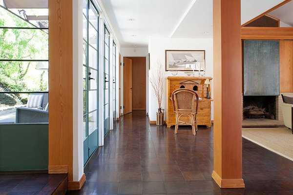 The house was originally built for Charles Warwick Evans, cofounder of the London String Quartet. Many details throughout are custom. Photo 5 of Warwick Evans House modern home