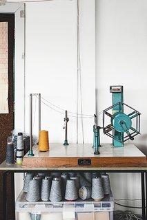 A Look Inside Eleanor Pritchard's Textile Studio - Photo 3 of 7 -