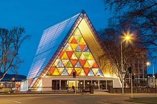 Q&A with Japanese Architect Shigeru Ban - Photo 5 of 7 - After the 6.3-magnitude earthquake in Christchurch, New Zealand, in February of 2011, Ban was asked to design a replacement cathedral for the city.
