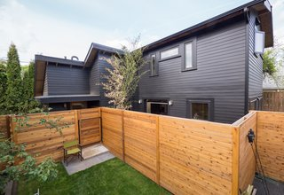 30 all black exterior modern homes photo 15 of 30 a client with - Modern Home Siding