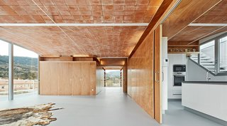 7 Historic Ceilings in Modern Homes That Have Been Beautifully Preserved - Photo 5 of 7 - In the Catalonia region of Spain, architecture firm Fake Industries Architectural Agonism in concert with Aixopluc created a house that combines industrially manufactured components with a handmade, Catalonian vaulted-brick roof.