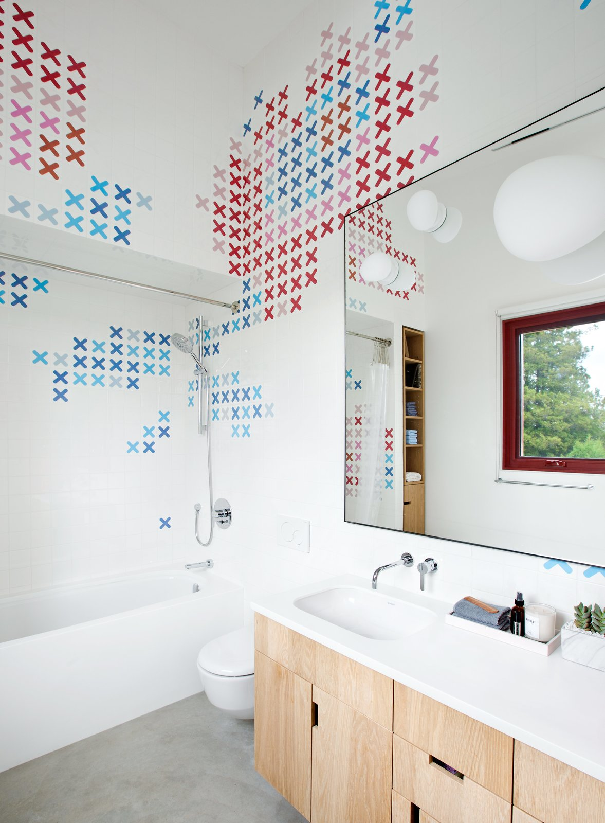 dwell bathroom ideas dwell one home three bathrooms each with an awesome way to use