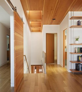 Photo of the Week: Pleasing Wood Surfaces Line This Oregon Coast Beach House - Photo 1 of 1 -