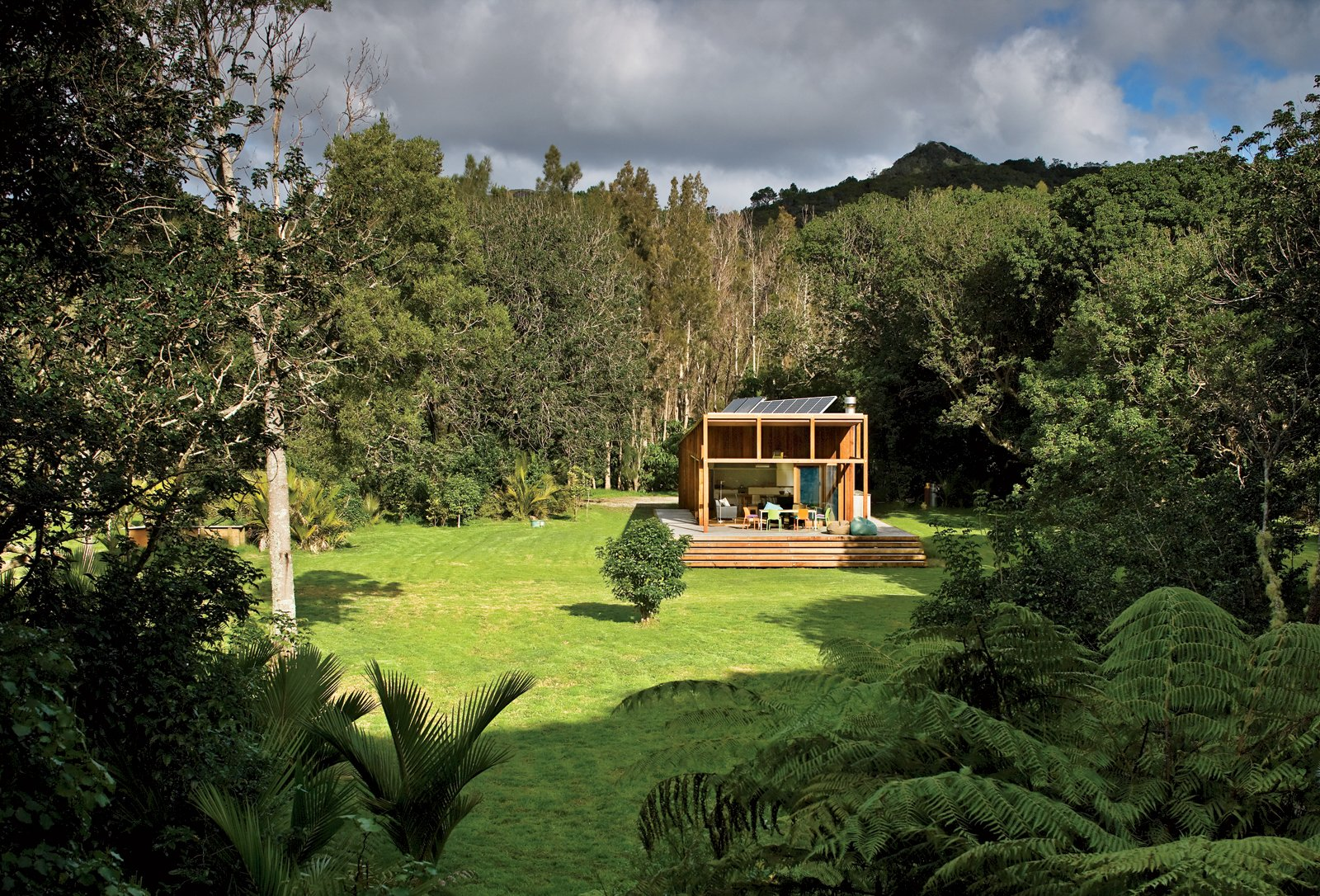Bach to Nature  Two doctors wanted their typical New Zealand home to function as simply as it looks.  Cabins & Hideouts by Stephen Blake from New Zealand Goes Modern Part Two
