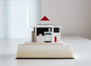 Thank Sottsass for the Most Memphis House Imaginable - Photo 2 of 14 - Sottsass first visited Maui in 1989, de-boarding the plane with an architectural model in tow. It was the firstof many iterations the home underwent over the next few years, before construction began in 1995.