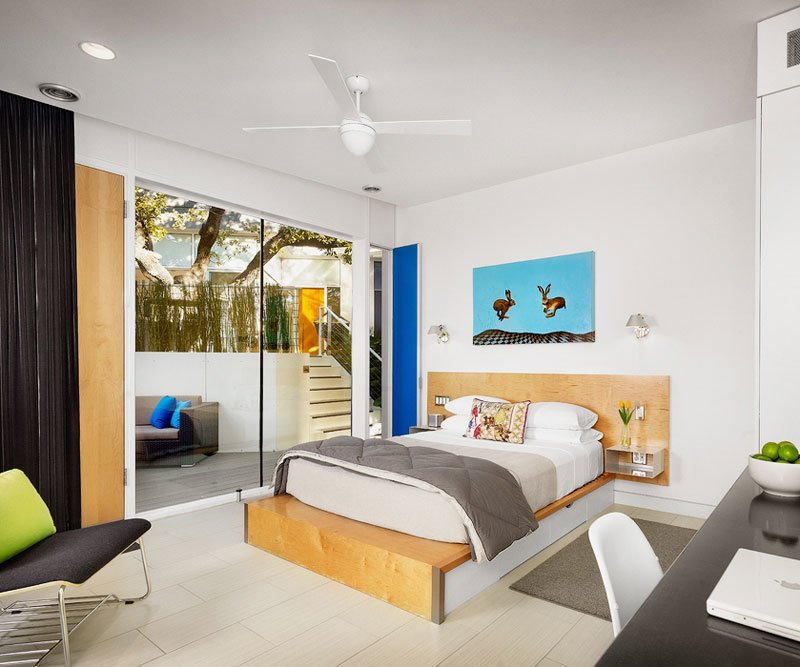 Kimber Modern, Austin   Located in Austin's buzzing South Congress neighborhood, the Kimber Modern combines sleek modernism with pops of color. Architect Burton Baldridge found a perfect balance between durability and delight.  The 10 Best-Designed Hotels in America by Ella Riley-Adams