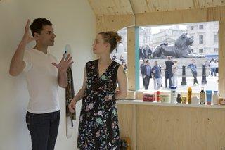 Four Designers Reimagine the Home in London's Trafalgar Square - Photo 9 of 12 -