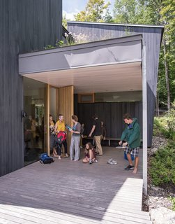 It Took a Whole Family to Build This House - Photo 12 of 13 - The two combined families return to the home each summer.