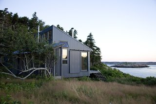 101 Best Modern Cabins - Photo 73 of 101 - This quaint cabin is located on Ragged Island, 20 miles off the coast of Maine. Photo by: Eirik Johnson