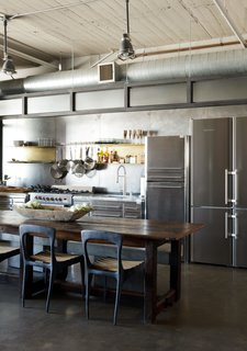 Editor's Letter: 5 Extraordinary Interiors We Love - Photo 4 of 5 - A designer carved out this industrial-chic kitchen in a downtown Los Angeles apartment.