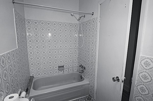 A before shot of the bathroom.