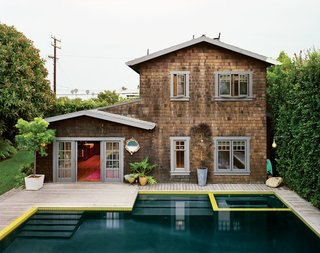 Cassidy used the pool as an anchor for an overarching backyard master plan that pulled the parts together.