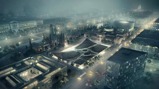 BIG Presents New Vision for Smithsonian Campus in Washington - Photo 1 of 8 -