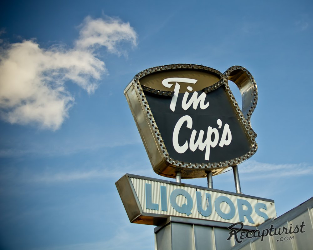 Tin Cup's in St. Paul, Minnesota.  Photo 8 of 9 in These Amazing Vintage Signs Are a Blast from America's Past