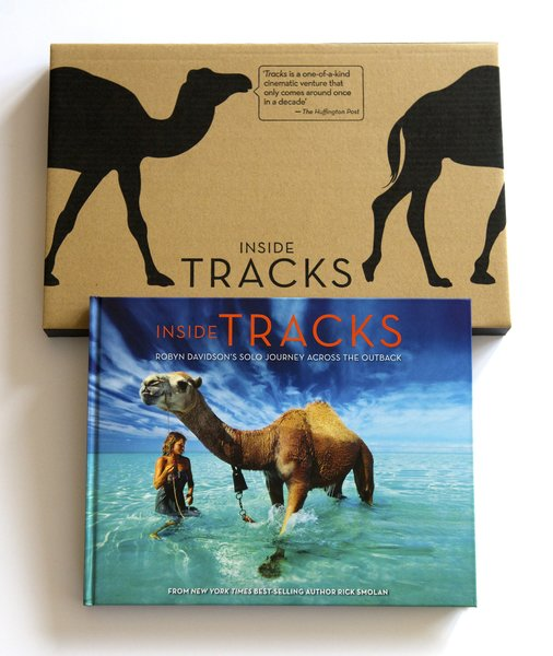 The cover of Inside Tracks.