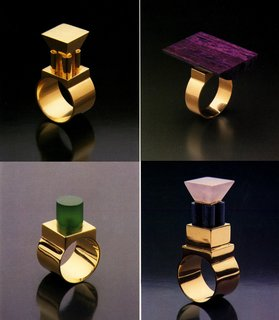 Eye-Popping Jewelry Designed by Postmodern Architects - Photo 1 of 5 -