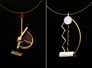 Eye-Popping Jewelry Designed by Postmodern Architects - Photo 2 of 5 -