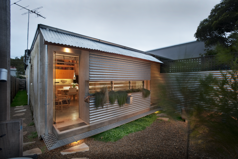 Photo 1 Of 10 In Compact Australian Home Clad In Steel And