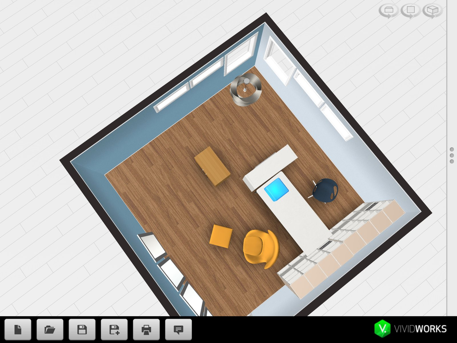 Wilson said the app would help her work with clients without having to build a 3D-version of their homes, which takes much longer.  Office by Moving Body Culture