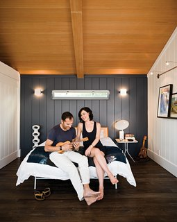 "Less is More in this Manhattan Beach Bungalow - Photo 1 of 18 - ""There's a soulfulness in this small house that's impossible to replicate in something completely new. The sweetness truly lingers,"" says architect Michael Lee."