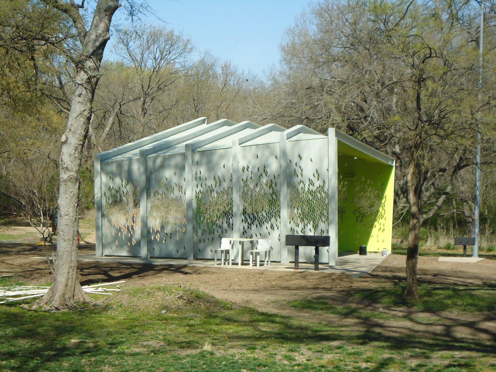 A Modern Park Pavilion Rises in Dallas