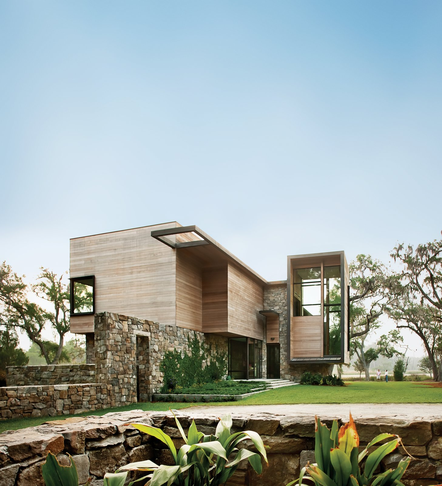 Dwell - Modern Marsh House in South arolina - ^