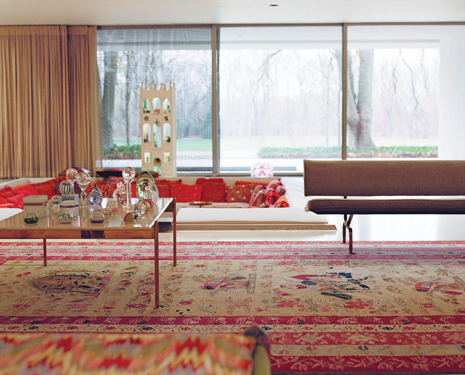 Miller House In Columbus Indiana By Eero Saarinen