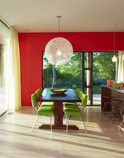 Sustainable, Solar-Powered Family Retreat in California - Photo 3 of 8 - Inspired by Scandinavian and Mexican contemporary and traditional design, the Sunrise house has a bright, clean, and eclectic color palette.